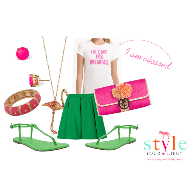 Pink and Green All Over