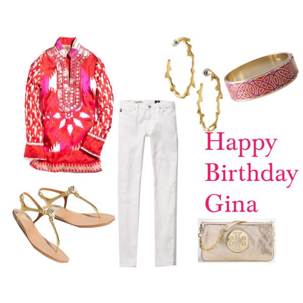 Happy Birthday Gina