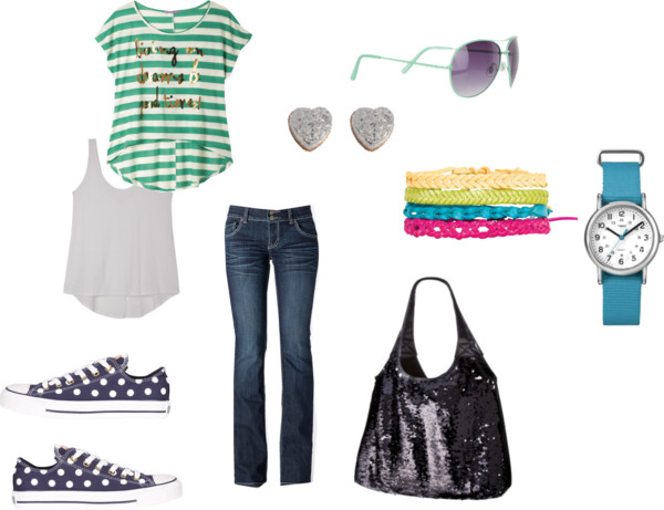 Virtual Outfits: Teenage Girl