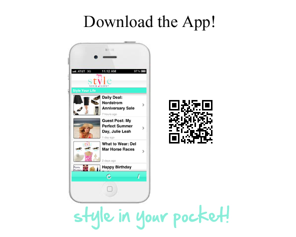 """Style Your Life """"The App""""!"""