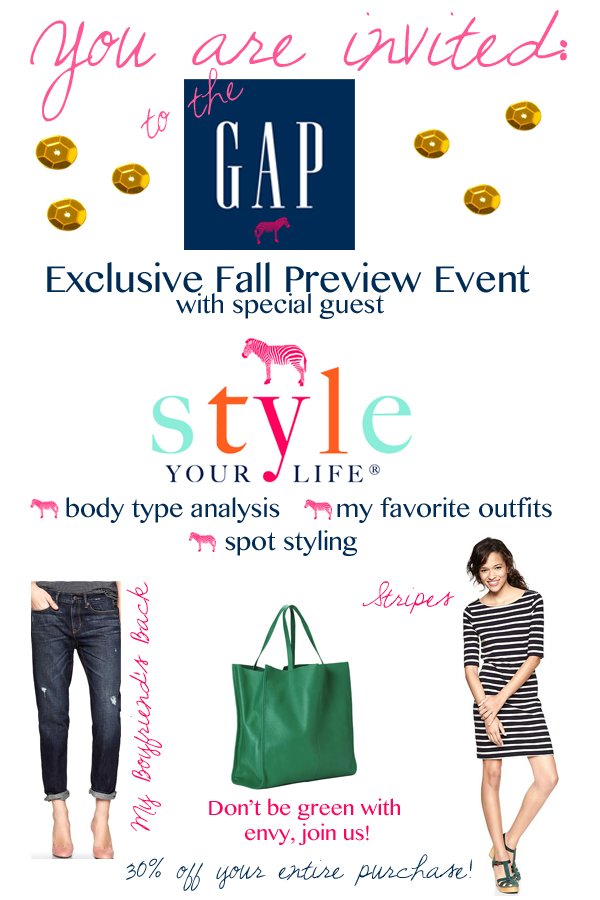 Gap Style Your Life Event!