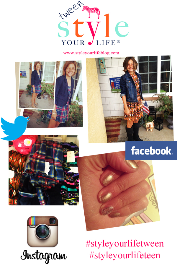 Style Your LIfe Tween:Sharing YOUR Style!