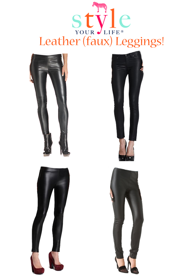 Fall Trends: Leather Leggings