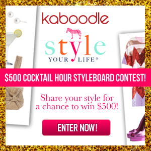Kaboodle Cocktail Hour Contest