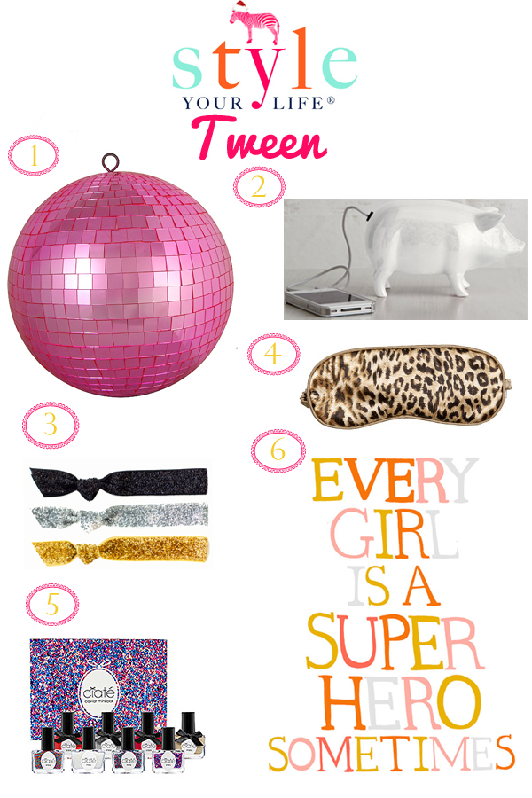Stylish Gift Guide: Tween Gals