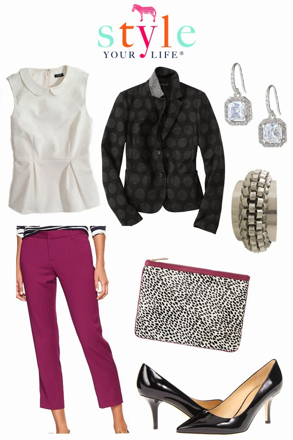 Fabulous Fall Work Outfit