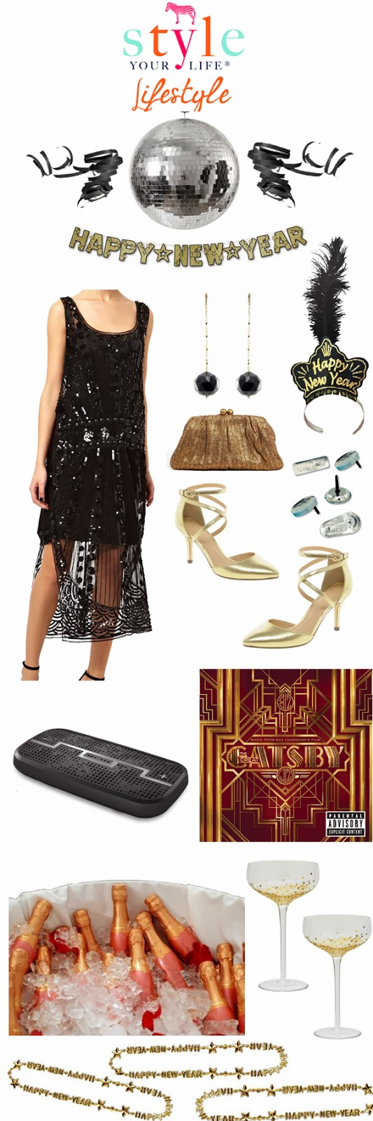 New Years Eve Great Gatsby Style