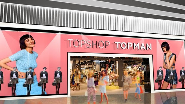 Topshop & Topman Opening at Fashion Valley this week!