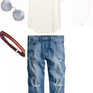 A Tee Shirt and Jeans Done Right