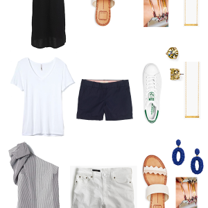 Summer Getaway 14 Pieces Seven Outfits