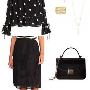 The Paris Wife Capsule Black Skirt