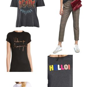 Five Tips for Wearing Graphic Tees!