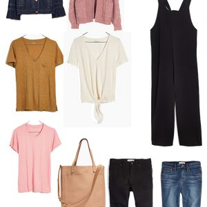 Madewell Sale and Capsule Wardrobe
